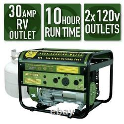Sportsman 4,000-W Quiet Portable Propane Gas Powered Generator Home RV Camping