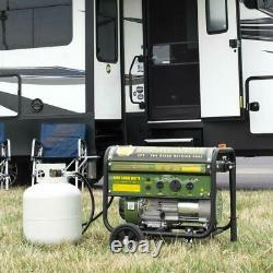 Sportsman Portable Generator Single Fuel Overload Protection Propane Gas Powered