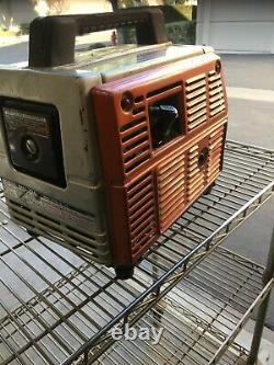 Vintage EARLY Honda EM500 generator 500 Watt 110 AC / 12 Volt dc Japan