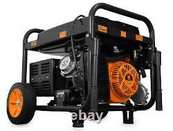 WEN 11,000-Watt Portable RV Ready Dual Fuel Gas Powered Electric Start Generator