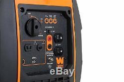 WEN 2000-W Super Quiet Portable Gas Powered Inverter Generator Home RV Camping