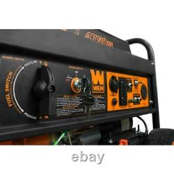 WEN 4,750-W Quiet Portable Dual Fuel Gas Powered Generator with Electric Start