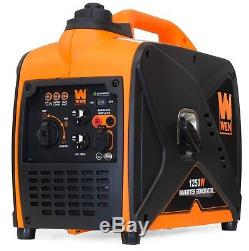 WEN 56125i 1250-Watt Gas-Powered Inverter Generator, CARB Compliant