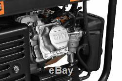 WEN Generator Portable Gas Propane Dual Fuel Electric Start Portable Power