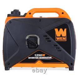 WEN Inverter Generator CARB Compliant 1250-Watt Gas-Powered