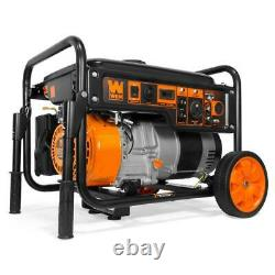 WEN Portable Generator 6000-Watt RV-Ready Gas Powered Wheel Kit