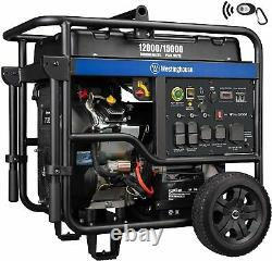 Westinghouse 15,000-W Portable RV Ready Gas Powered Generator with Remote Start