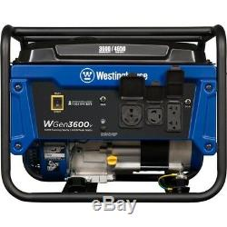 Westinghouse 3600-W 7-HP Portable RV Ready Gas Powered Generator Home RV Camping