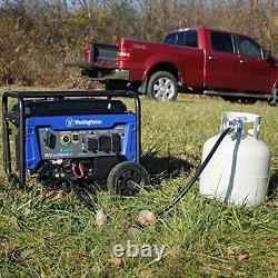 Westinghouse 4,650-W Portable Dual Fuel Gas Powered Generator with Remote Start
