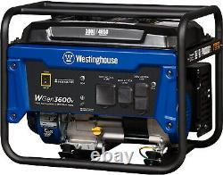 Westinghouse 4,650-W Quiet Portable RV Ready Gas Powered Generator Home Backup