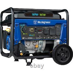 Westinghouse 6,600-Watt Portable Hybrid RV Ready Dual Fuel Gas Powered Generator