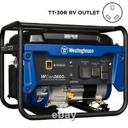 Westinghouse Outdoor Power Equipment-WGEN3600V 3600 Running Watt Portable Gas
