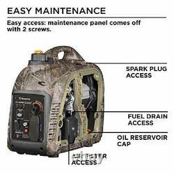 Westinghouse Quiet 2,200-Watt Camouflage Portable Gas Powered Inverter Generator