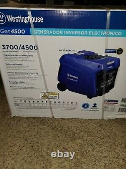 Westinghouse iGen4500 Gas Powered Remote Start Inverter Quiet Portable Generator