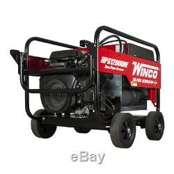 Winco HPS12000HE Home Power Series Portable Generator 12000 Watt Honda Gas 120V