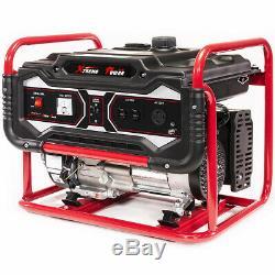 XtremepowerUS Gas Generator 4000 Watt Emergency Lifan Engine Power Camp Tailgate