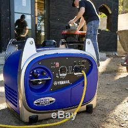 Yamaha EF2400iSHC 2,400 Watt Gas Powered Portable RV Backup Inverter Generator