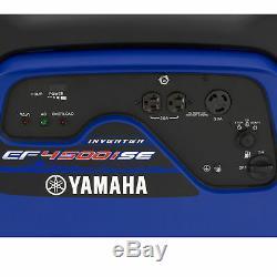 Yamaha EF4500iSE 4,500 Watt Electric Start Gas Power Portable Inverter Generator