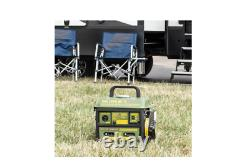 1000/900-watt Générateur De Gaz Portable Essence Powered Camping Hunting Tailgating