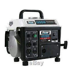 1200 Watts Gaz Portable Silencieux Générateur Powered Accueil Rv Camping Talonnage Camp