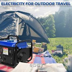 1200w Générateur De Gaz Portable D'urgence Accueil Retour Power Camping Tailgating