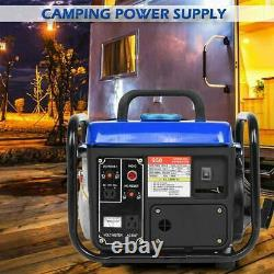 1200w Portable Gas Generator Emergency Home Back Up Power Camping Tailgating États-unis