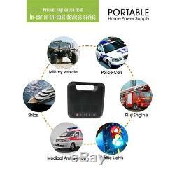 220wh 300w De Stockage D'énergie Portable Énergie Solaire Générateur Inverter Usb Gaz Sans