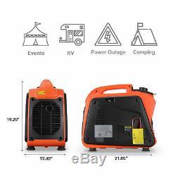 2400w Super Inverter Silencieux Portable Alimenté Générateur De Gaz Carb Epa Conforme