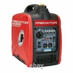 2predator 2000 Watt Générateur De Gaz Silencieux Onduleur D'énergie Portable