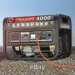 4000 Watt Générateur De Gaz D'alimentation Accueil Portable Usage Résidentiel 120v Panneau De Sortie