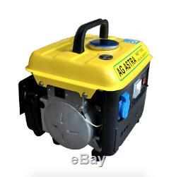 750w 220 V Essence Générateur Mini Alimentation Réservoir De Carburant Faible 4l Bruit Portable