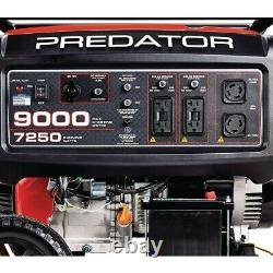9000 Watt Max Générateur De Gaz Électrique Portable Similaire Pulsar Carb