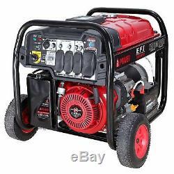 A-ipower 13 000 Watts À Variateur Électronique De Carburant Injector Générateur De Gaz Powered Sua13000efi