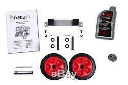 A-ipower 4500 Watt Motorisé À Essence Générateur Avec Kit De Roue Portable 11 Hr Durée