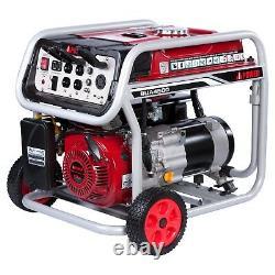 A-ipower 4 500-w Générateur De Gaz Portable Avec Kit De Roues Home Rv Camping