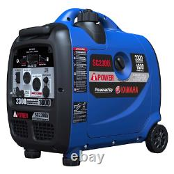 A-ipower Propulsé Par Yamaha Portable Quiet Inverter Generator, 2300 W Peak