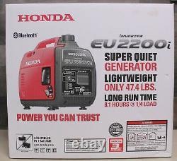 Bluetooth! Nouveau Onduleur À Gaz Ue2200i 2200w Générateur Silencieux Livraison Rapide
