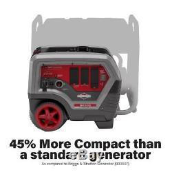 Briggs & Stratton 6.500 Watts Super Gaz Portable Silencieux Powered Inverter Generator