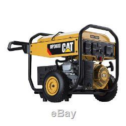 Cat 120v 3,600 Watt Gas Powered Générateur Avec Démarrage Électrique (pour Les Pièces)