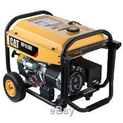 Cat Rp6500e 6500 Watt Marche / 8125 Watt Démarrage Gaz Alimenté Générateur Portable