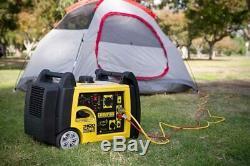 Champion 3100-w Rv Portable Ready Gas Powered Inverter Générateur Avec Démarrage À Distance