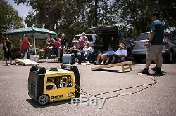 Champion 3.100 Watts Super Silencieux Rv Portable Ready Gas Powered Inverter Generator