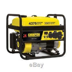 Champion Power Equipment Portable Generator 3500 Watts Gaz Rv Ready (epa)