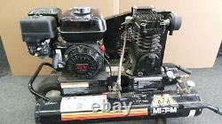 Compresseur D'air Mi-t-m 6,5 Ch Puissance À Gaz Monophasé Honda Moteur Portable