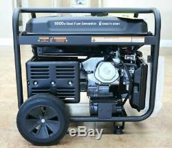 Cummins Onan 9500-w Portable Hybride Bi-énergie À Gaz Téléalimenté Générateur De Démarrage