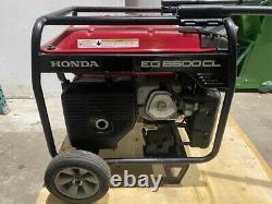 Démonstration Honda Eg6500cl Générateur Alimenté Au Gaz (in Stock)