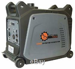 Dht 3.200 W Super Gaz Portable Silencieux À Propulsion Électrique De Démarrage Onduleur Générateur