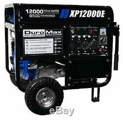 Duromax 12 000 Watts Gaz Portable Powered Démarrage Du Générateur Électrique Avec Roue Kit