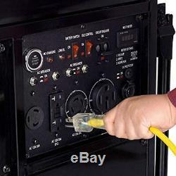 Duromax 13000-w 20hp Gaz Portable Powered Rv Prêt Générateur Avec Démarrage Électrique