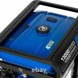 Duromax 13000-w 20hp Portable Rv Ready Gas Powered Generator With Electric Start
